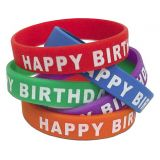 Incentive Wristbands - Happy Birthday