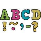 Chalkboard Brights Bold Block 3 Magnetic Letters