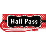 Magnetic Red Polka Dots - Hall Passes