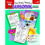 Busy Teacher's Seasons Book Kindergarten
