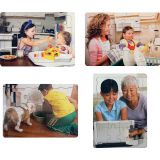 Children Helping at Home Puzzle Set