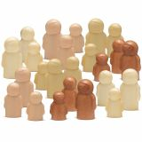 Little People Bumper (set of 24)