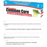 Common Core State Standards Kit for 7th Grade Language Arts