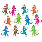 Sock Monkeys (Solids) Accents Variety Pack