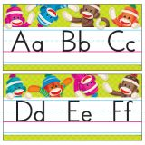Sock Monkeys Alphabet Line BBD