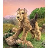 Airdale Terrier Hand Puppet