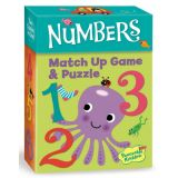 Numnbers Match Up Game & Puzzle