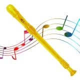 Grover Candy Apple 2 Piece Recorder, Yellow