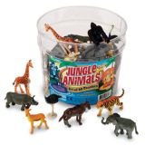 Jungle Animals, Set of 60