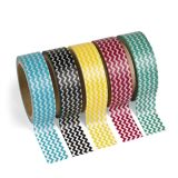 Colorful Chevron Washi Tape Set, 5 rolls/Pack