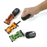 Plastic Super Speed Car with Launcher, 12/Pack