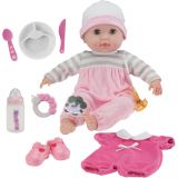 15 Soft Body Baby Doll Deluxe Set