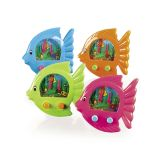 Plastic Fish-Shaped Water Games 4, 12/Pack