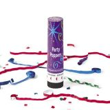 Plastic Jumbo Party Poppers 8, 6/Pack