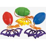 Plastic Super Slider Games, Set of 3