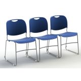 Stack Chair with Ganging
