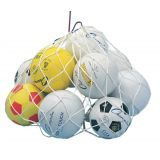 24 x 36 Ball Bag, Holds 12 Balls, White