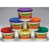Crayola Dough, 3lb. Tub, 6 Pack Assortment