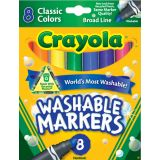 Classic Color Markers, Broad Line, 8 Colors