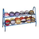 12 Ball Cart, 1 Steel Frames, On Casters, 59L x 17.5W x 35.75H