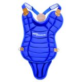 Chest protector, ages 7- 10 with tail, blue