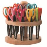 Kraft Edgers Caddy with 18 Patterned Scissorts