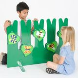 Back to Nature™ Field Bugs Room Divider