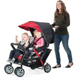 The Duo Sport™ 2-Passenger Stroller Red