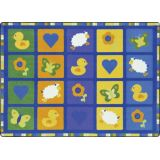 Spring Things Rug, 5'4 x 7'8 Rectangle, Multi