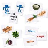 Healthy Helpings™ A Myplate Activity Mat