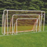 Portable Short Sided Powder Coated Goal, 5'H x 10'W x 34D, Net included
