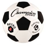Retro School Club Size 4 Soccer Ball