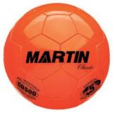 Soccer Balls, classic, hand sewn, PU leather, butyl bladder, size 5 official, orange