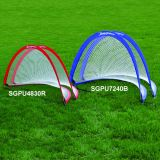 Small Pop Up Goal, 4'W x 2.5'H x 2.5'D, red, includes carry bag