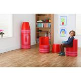 Crayon Seating with M-Link®, Set of 2, Red