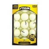 38-Pack Table Tennis Balls, White
