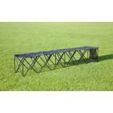 Collapsible Portable Bench, 104 x 19 x 17, Seats 3