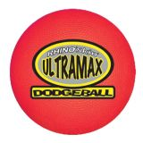 6 Rhino Skin® Ultramax Dodgeball, Red