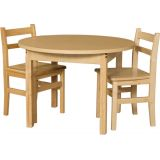 36 High Pressure Laminate Classroom Round Table