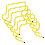 12 Weighted Training Hurdle Set of 6, Yellow