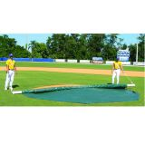 Wind Weighted Mound Cover 20' Round, Green