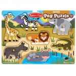 Safari Peg Puzzle