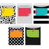 Bold & Bright Library Pockets