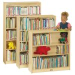 Bookcase with 2 Adjustable Shelves, 35-1/2