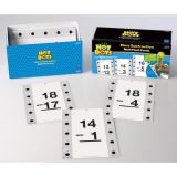 Hot Dots® Flash Cards, More Subtraction