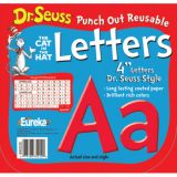 Dr. Seuss™ Punch Out Deco Letters, Red
