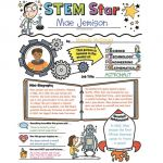 Personal Poster Set STEM Star