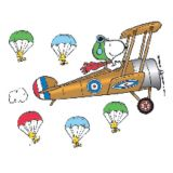Peanuts® Giant Flying Ace Snoopy Bulletin Board Set