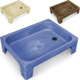 All In One Sand & Water Center, 8 high sandbox, Chocolate
