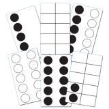 Sensational Math™ Ten-Frame Activity Cards, Pack of 46